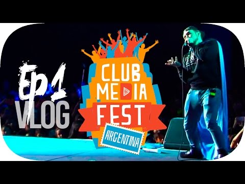 Epic Vlog | EN ARGENTINA CLUB MEDIA FEST | Atropellando Fans EP. 1