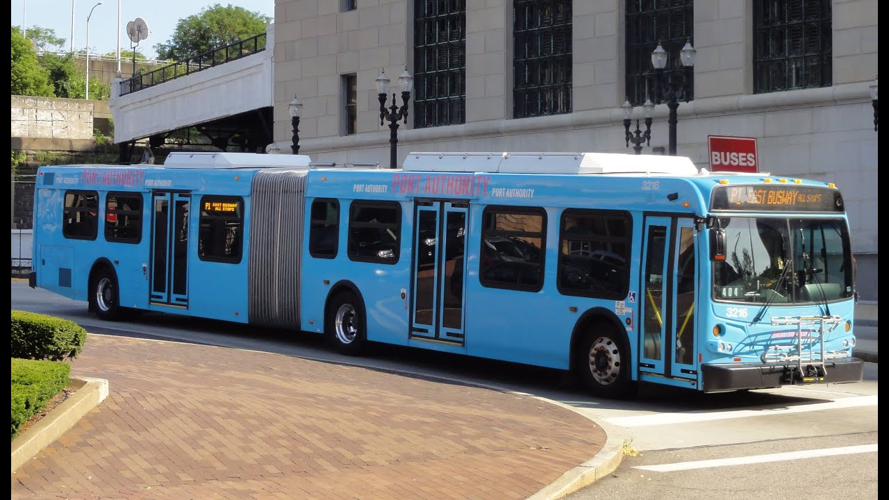 Port authority bus system pittsburgh pa youtube - Port authority pittsburgh ...