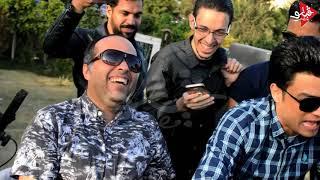 احمد عامر جنن محمد حاتم وبيقولو انت كائن غريب من حفله تخرج هندسه برعايه ايهاب النبوى