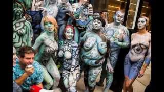 BodyPainting - The World Champion in the category Brush and Sponge