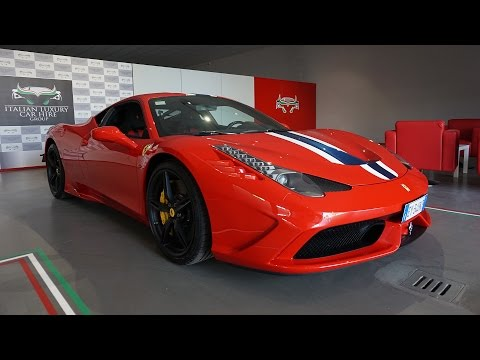 My First Drive in the Ferrari 458 Speciale [Shmee's Adventures]