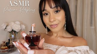 ASMR The Perfume Room Roleplay 🤍 Soft Whispers, Sprays, Tapping, Sweet Fragrances
