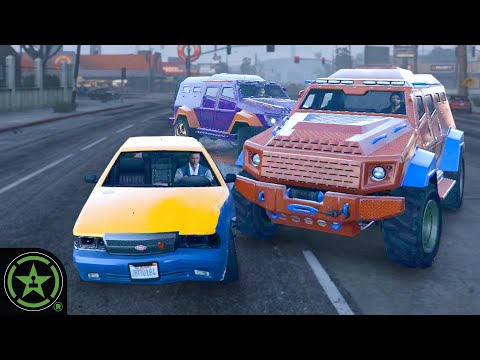 Offense Defense With Cabs - GTA V