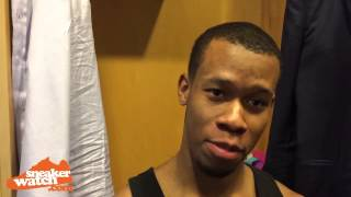 Rodney hood tells us what kicks he prefers off the court