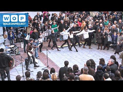 Musical flashmob WOP Today is My Future. Bilbao