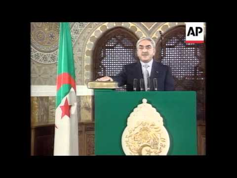 Algeria - Swearing In OfAlgerian President