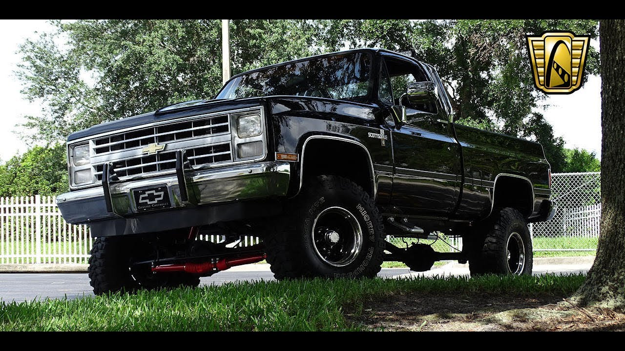 1987 Chevrolet K10 Gateway Orlando #880 - YouTube