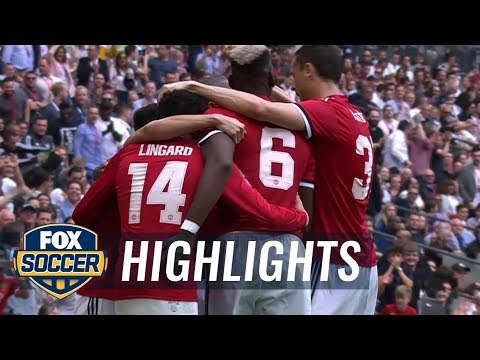 Alexis Sanchez header equalizes for Man United vs. Spurs | 2017-18 FA Cup Highlights