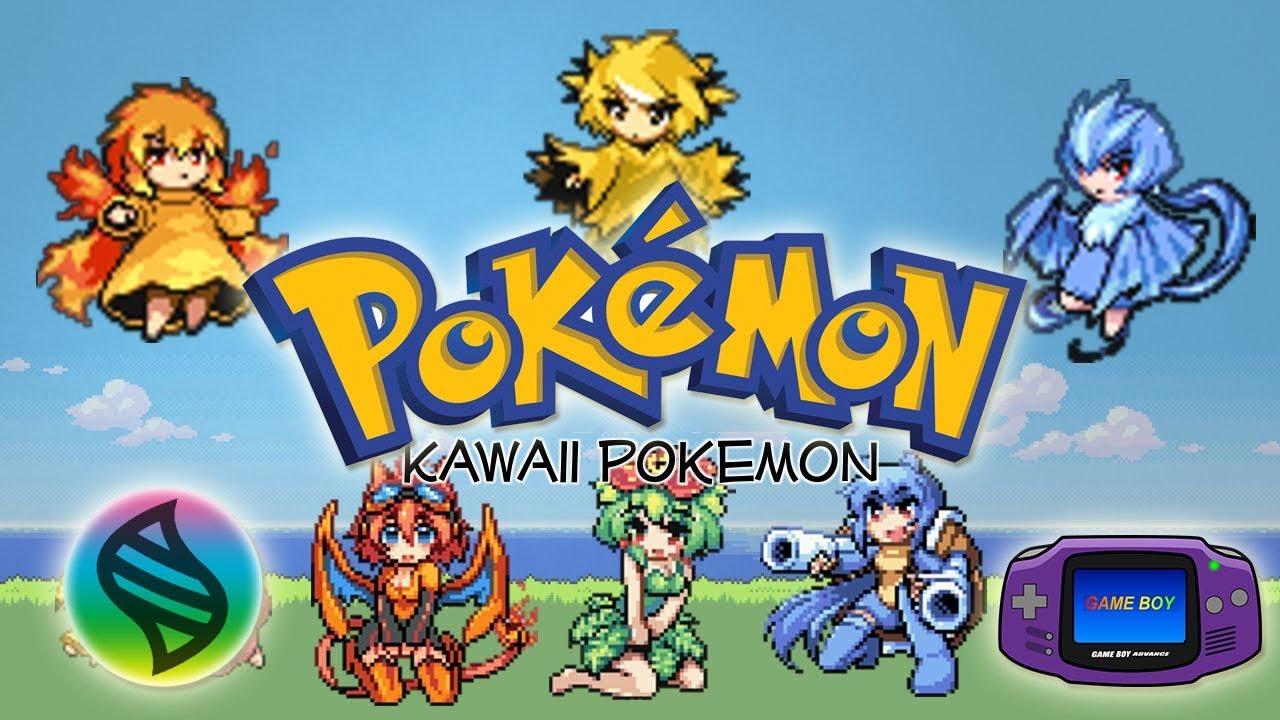 Pokémon Mega Moemon FireRed | UN HACKROM CON MEGAEVOLUCIONES Y DIFERENTES  PERSONAJES