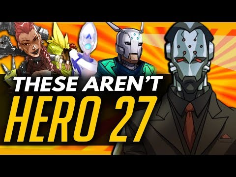 Overwatch | Who Hero 27 WON'T BE + Theories Dismantled!