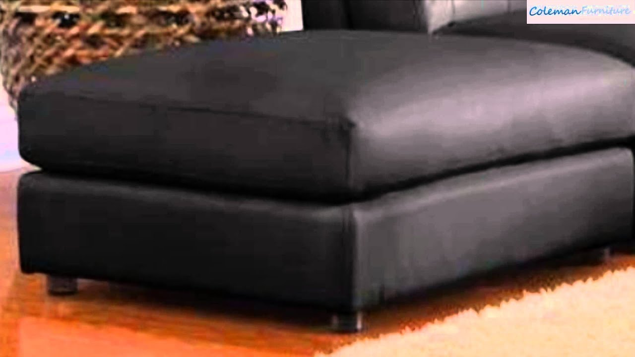 Quinn Black Sectional Collection From Coaster Furniture