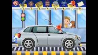 Car Wash pre school iPad app