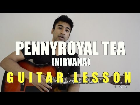 #21 - Pennyroyal Tea (Nirvana) - Guitar lesson - Complete and Accurate : Chords in description