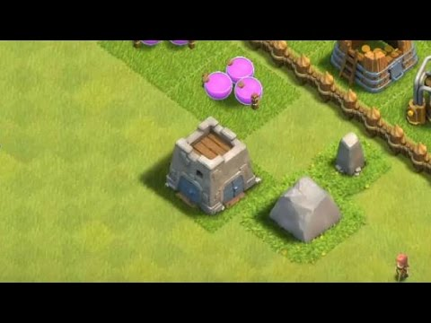 CLASH OF CLANS -  How to rebuild the CLAN CASTLE