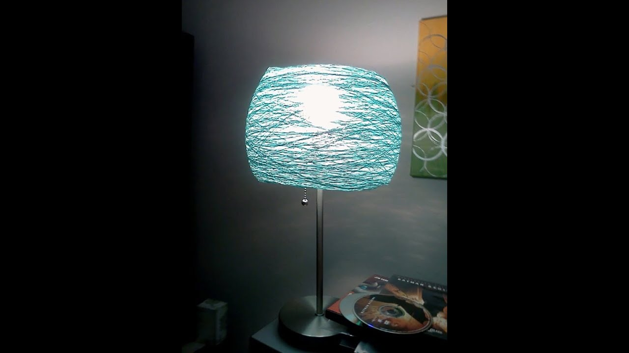 Diy girl lamp shades - YouTube