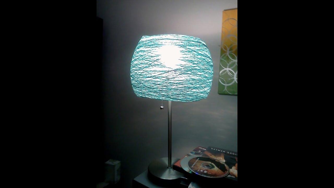 Diy girl lamp shades
