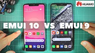 Huawei EMUI 10 vs EMUI 9 - NEW FEATURES with ANDROID 10