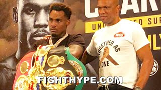 """JERMELL CHARLO FULL """"UNDISPUTED"""" PRESS CONFERENCE; HOLDS NOTHING BACK AS BRIAN CASTANO NO-SHOWS"""