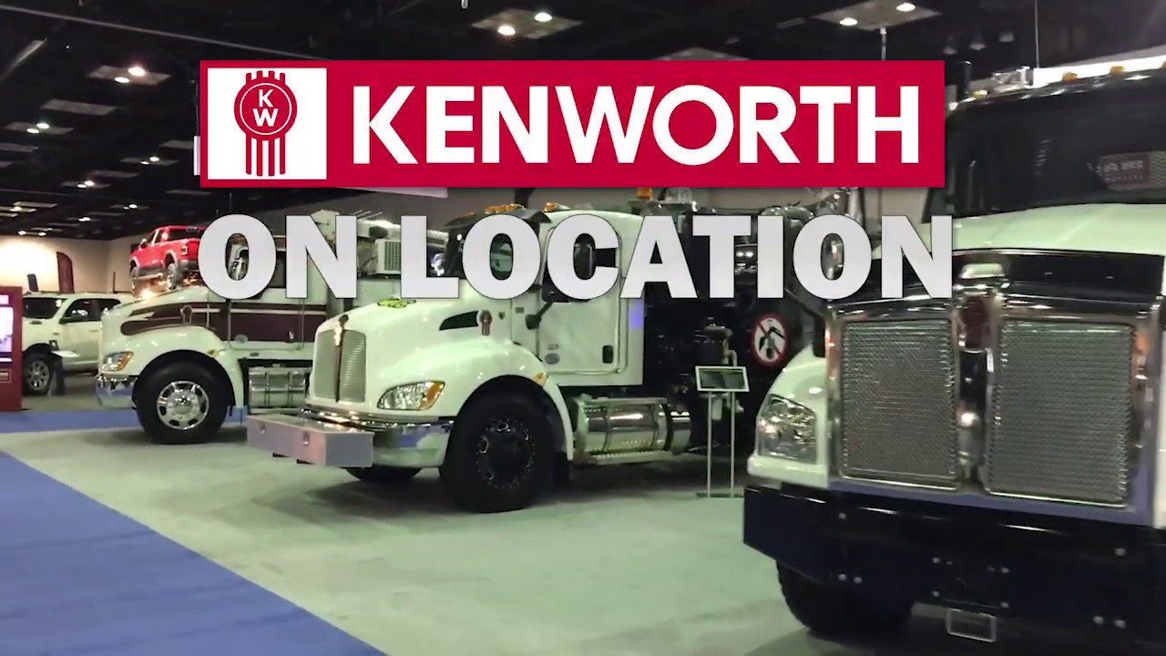 Kenworth at The Work Truck Show