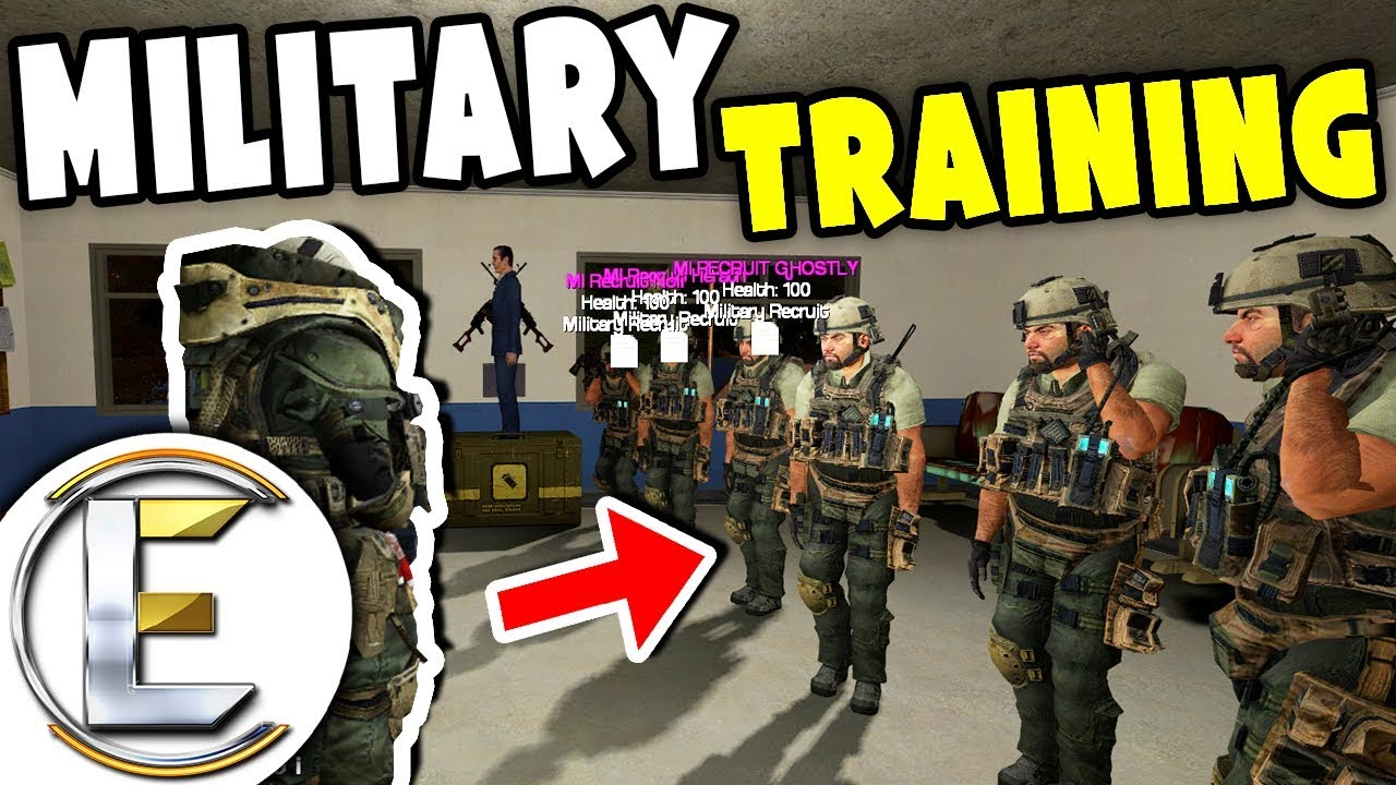 SERIOUS MILITARY TRAINING - Military RP Life EP1 (Realistic Tanks And Crazy  Long Training)