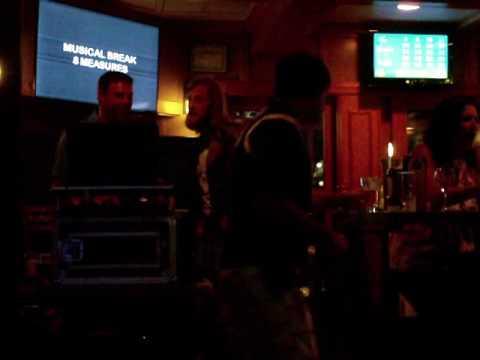 McNobody Karaoke Hard to Handle Black Crows @The Rusty Nail 08102017