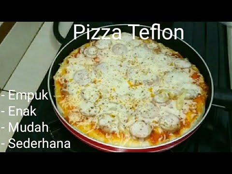 Cara Mudah Membuat Pizza Teflon (Rumahan).