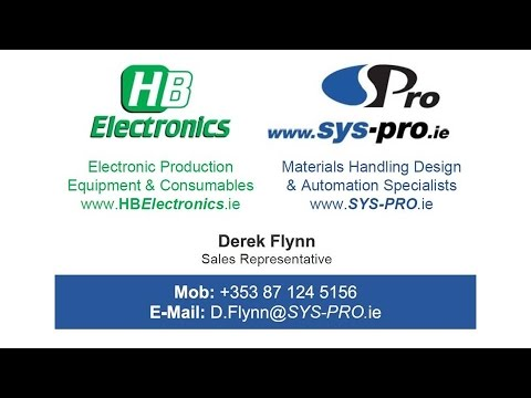 SYS PRO: Bespoke Manufacturing Solutions with Total Support & HB Electronics : Great Quality ...