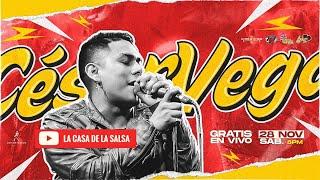 Cesar Vega en La Casa de la Salsa