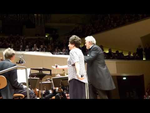 Concert Berlin, Philharmonie, Plácido Domingo y Lucero Tena, 17. Feb. 2015