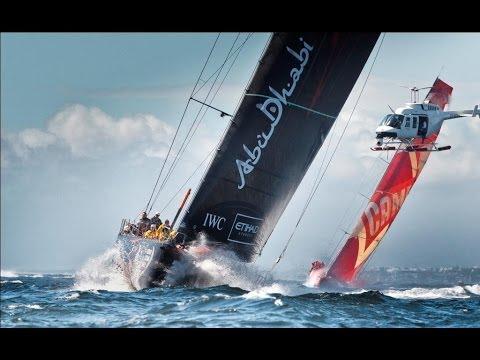 Рекорд скорости на гоночной яхте в Атлантике  29 узлов