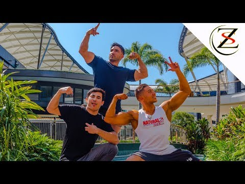 PACIFIC FAIR - Biggest Shopping Mall in Queensland, Shoulder Workout with World Champion Billie Paea