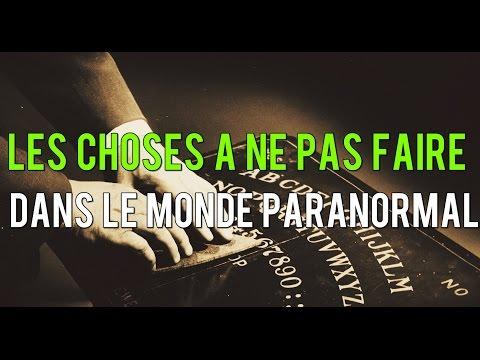 ⛔️ 8 CHOSES A NE PAS FAIRE DANS LE MONDE PARANORMAL 👻