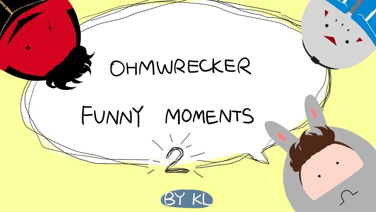 OHMWRECKER Funny Moments Complilation 2 (+中文CC字幕) - YouTube