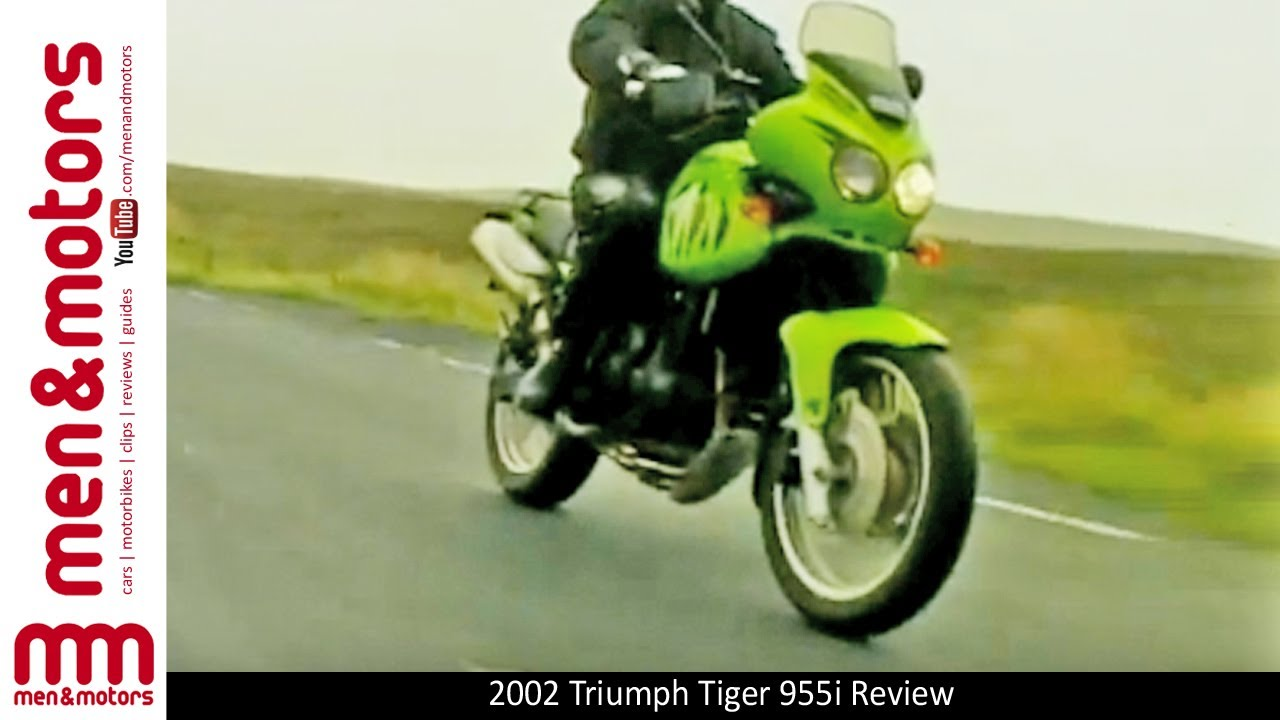 2002 Triumph Tiger 955i Review Youtube