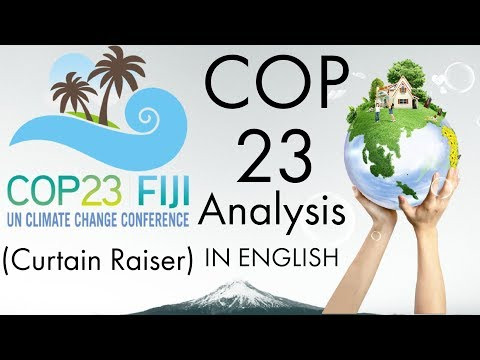 English Conference of Parties (CoP) 23 Bonn Germany UNFCCC