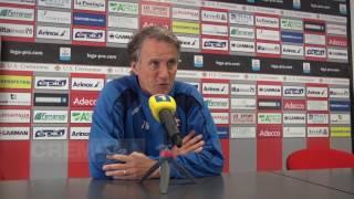 La conferenza stampa di Mister Tesser in vista di Cremonese - Racing Roma