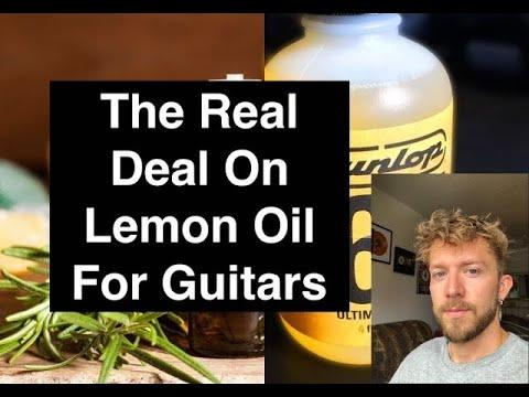 What Is Guitar Lemon Oil?