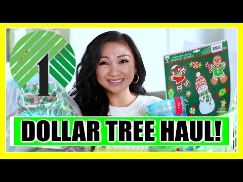 DOLLAR TREE CHRISTMAS 2019 HAUL!