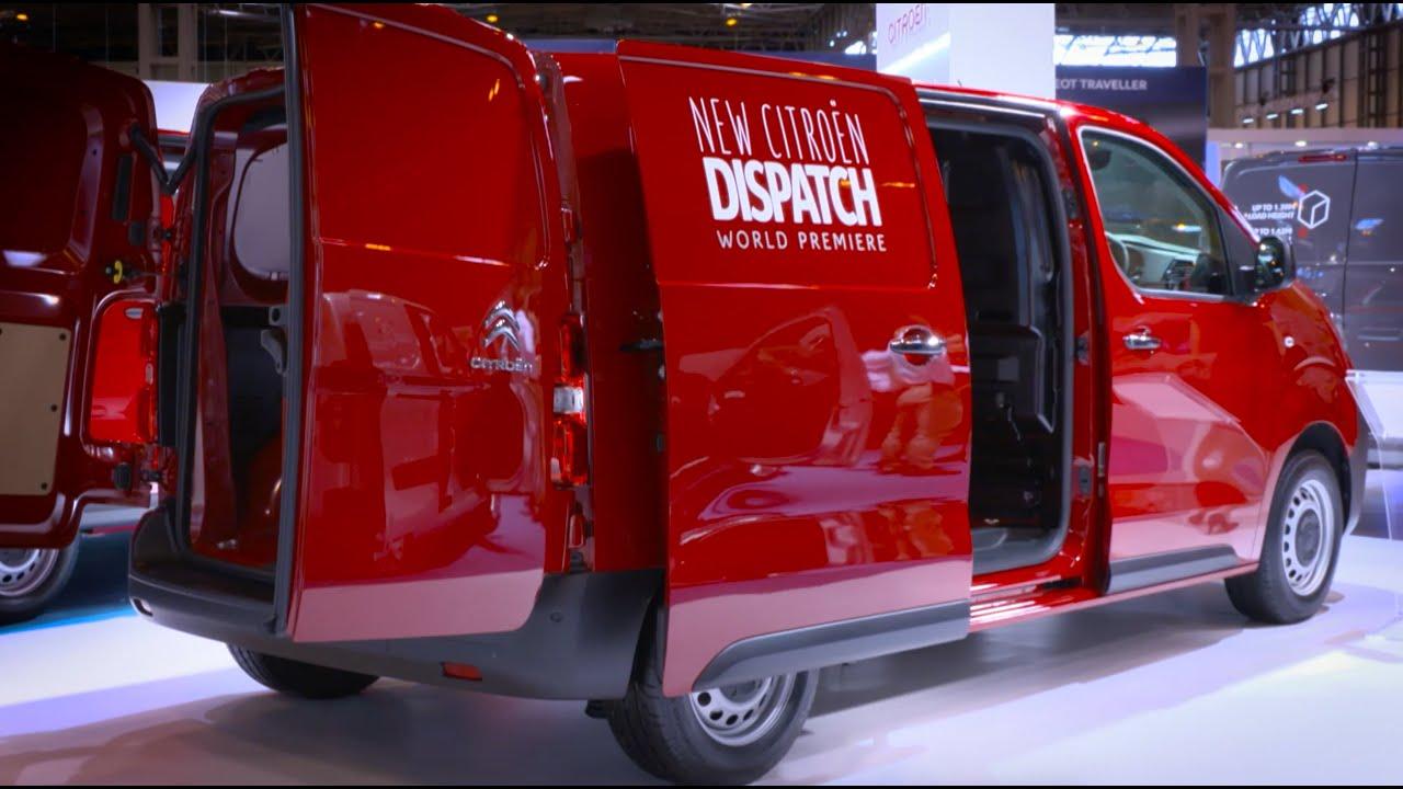 citron at cv show 2016 world premiere of dispatch van youtube - 46 Automotive Cv Effortless