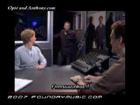 Opie and Anthony XM Commercial outtakes