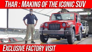 How is the Mahindra Thar made? Watch the entire process of making the Iconic SUV | evo India