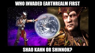 Shao Kahn vs. Shinnok: Who was First to Begin Invading