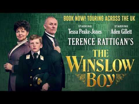 THE WINSLOW BOY  2018 UK tour with TESSA PEAKEJONES & ADEN GILLETT