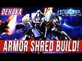 DEHAKA, ARMOR SHRED BUILD! -  SOLO QUEUE SILLINESS [Heroes Of The Storm]