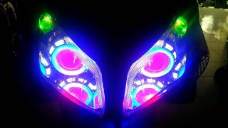 Double projie led di vario 110
