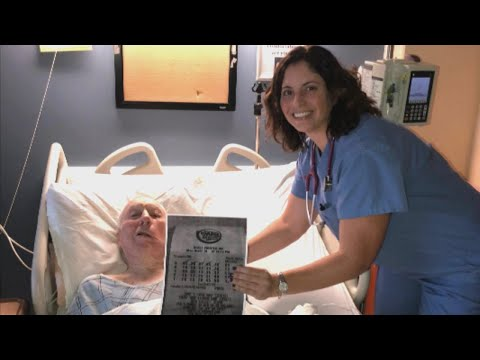 Man Who Broke His Hip Wins Mega Millions Lottery With Hospit
