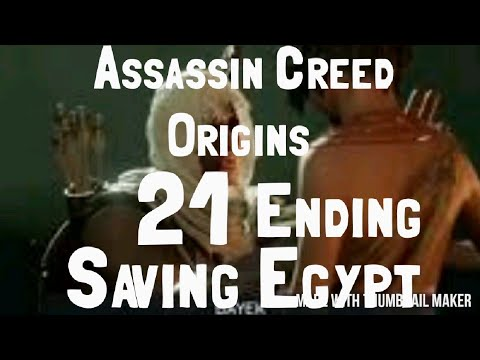 [21] (Saving Egypt) Assassin Creed Origins [Blind] Playthrough w/ProspectdV [Ending]