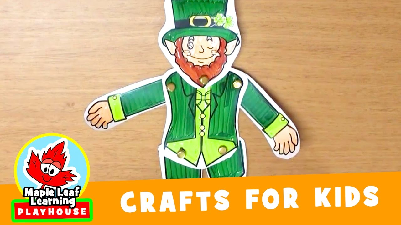st patrick u0027s day craft for kids maple leaf learning playhouse