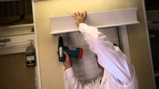 How to Install Real Wood Cornice (outside mount) to Your Windows - BlindsOnLine.com