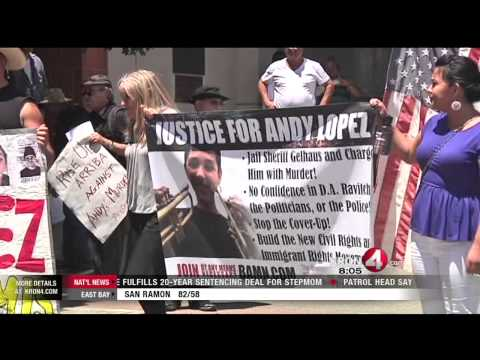 Andy Lopez Stoned on Pot When Shot, Report Says